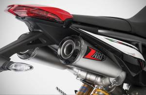 "Zard - ZARD ""Top Gun"" Stainless Steel Racing Slip-Ons: Ducati Hypermotard 950/SP - Image 1"