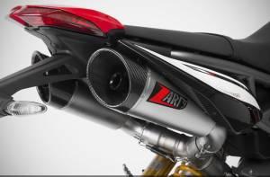 "Zard - ZARD ""GT"" Stainless Steel Racing Slip-Ons: Ducati Hypermotard 950/SP - Image 1"