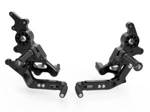 Ducabike - Ducabike Adjustable Billet Rearsets: Ducati Hypermotard 950 / 950 SP [Eco Non-folding Pegs version] - Image 1