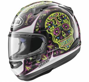 Arai - Arai Signet-X El Craneo Helmet [Blue Frost or Pink] - Image 1