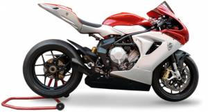 HP Corse - HP CORSE HYDROFORM  BLACK COATED STAINLESS Slip-On exhaust : MV AGUSTA F3 675 / 800 - Image 1