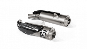 Akrapovic - Akrapovic Titanium Slip-On Exhaust Ducati Scrambler 1100 - Image 1
