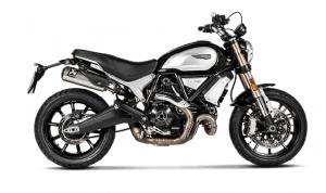 Akrapovic - Akrapovic Slip-On Exhaust Ducati Scrambler 1100 2018-2019 - Image 1