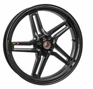 BST Wheels - BST Rapid Tek Carbon Fiber Front Wheel: Suzuki GSX-R 600/750 (11-15) - Image 1