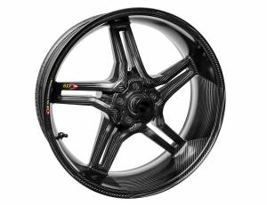 "BST Wheels - BST RAPID TEK CARBON FIBER REAR WHEEL: SUZUKI GSX-R 600-750 '11-'19 6.0"" REAR - Image 1"