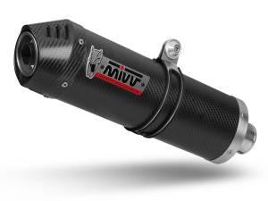 Mivv Exhaust - Mivv Oval Carbon Kat Delete Exhaust Multistrada 1200/1260 (15-19) - Image 1