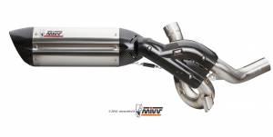 Mivv Exhaust - Mivv Suono Stainless Kat Delete Exhaust Multistrada 1200/1260 (15-19) - Image 1