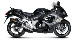 Akrapovic - Akrapovic Racing Exhaust System: Suzuki Hayabusa 2008-2019 - Image 1