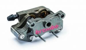 Brembo - BREMBO Hard Anodized 64mm Mount CNC 2 Piece Rear Caliper - Image 1