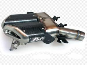 Zard - ZARD Penta ALU Slip-ons: Hypermotard 796-1100/EVO - Image 1