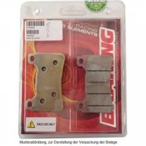 Braking - Braking Sintered Front Brake Pad Set: P1R930 - Image 1