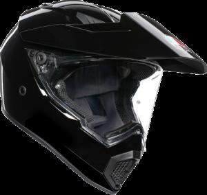 AGV - AGV AX-9 Helmet: Black - Image 1