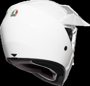 AGV - AGV AX-9 Helmet: White - Image 1