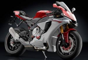 """RIZOMA - RIZOMA """"Veloce L"""" Billet Mirrors With Integrated Turn Signals [Including the correct brackets]: Pair- Yamaha R1 15-19 - Image 1"""