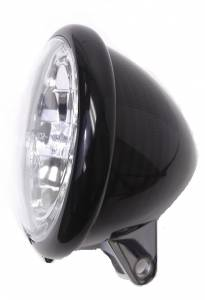 Corse Dynamics - Genuine Carbon Fiber Headlight Bucket with 5 3/4 inch Headlight and mounting Kit: Monsters & Sport Classics [Rare] - Image 1