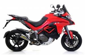 Arrow - Arrow Works Exhaust with Kat Delete Header: Ducati Multistrada 1200 '15-'17 - Image 1