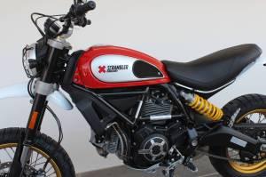 TechSpec - TechSpec XLine Grip Pad Set: Ducati Scrambler 800, Desert Sled, Cafe Racer, Icon - Image 1
