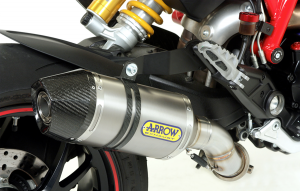 Arrow - Arrow Slip-On Exhaust: Ducati Hypermotard 821-939 - Image 1