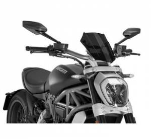 Puig - Puig Naked Bike Sport/Touring Windscreen: Ducati XDiavel - Image 1