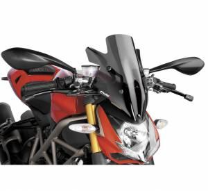 Puig - Puig Naked Bike Sport Dark Smoke Windscreen: Ducati Streetfighter 848 - Image 1