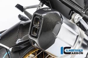 ILMBERGER CARBON - Ilmberger Carbon Fiber Exhaust Cap: BMW R1250GS - Image 1