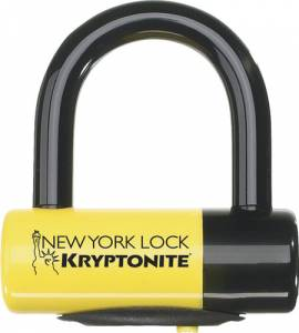 KRYPTONITE - KRYPTONITE New York Disc Lock Black/Yellow - Image 1