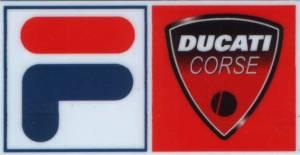 Stickers - Ducati Fila Sticker - Image 1
