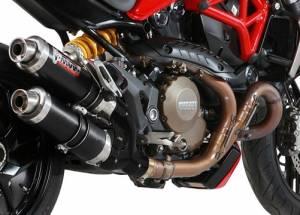 Mivv Exhaust - Mivv GP Carbon Exhaust: Ducati Monster 1200/S '14-'16 - Image 1