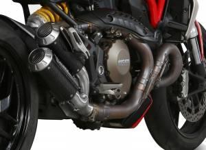 Mivv Exhaust - Mivv MK3 Carbon Exhaust: Ducati Monster 1200/S '14-'16 - Image 1