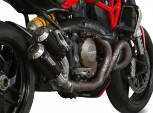 Mivv Exhaust - Mivv MK3 Stainless Steel Exhaust: Ducati Monster 1200/S '14-'16 - Image 1