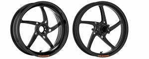 "OZ Motorbike - OZ Motorbike Piega Forged Aluminum Wheel Set: Ducati 848-SF848 / M796-1100 / S4RS / HM 796-821-1100 / HS [6.0"" Rear] - Image 1"