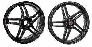 "BST Wheels - BST RAPID TEK 5 SPLIT SPOKE WHEEL SET [5.5"" REAR]: DUCATI 848/SF, MONSTER 796-1100, HYPERMOTARD, MONSTER S4RS, S4R - Image 1"