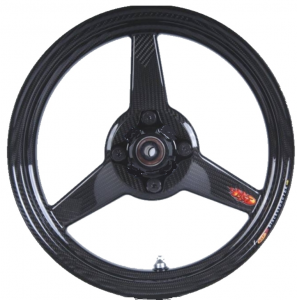 """BST Wheels - BST 3 Spoke Front Wheel 2.75"""" X 12"""": Honda Grom 125, Monkey - Image 1"""