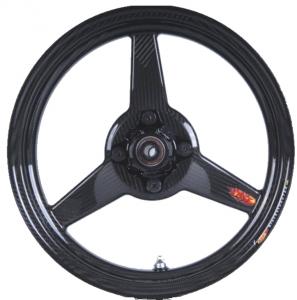 """BST Wheels - BST 3 Spoke Front Wheel: 2.5"""" X 12"""": Honda Grom 125, Monkey - Image 1"""