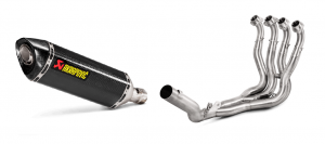 Akrapovic - Akrapovic Carbon Exhaust with Stainless Headers: Suzuki GSXR 1000/R '17-'20 - Image 1