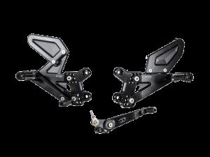 Bonamici Racing - Bonamici Adjustable Billet Rearsets: Suzuki GSX-R 1000/R  '17-'20 - Image 1