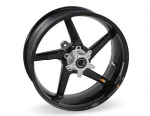 """BST Wheels - BST Diamond TEK Carbon Fiber 5 Spoke Rear Wheel [6.0"""" Rear]: Ducati 851-888 - Image 1"""