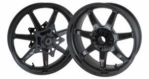 BST Wheels - BST Panther TEK Carbon Fiber 7 Spoke Wheel Set: BMW R nineT - Image 1