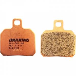 Braking - Braking Sintered Rear Brake Pads CM56: Ducati Monster 1200-1100-696-796-821, 749-999, Panigale 899-959-1199-1299-V4 - Image 1