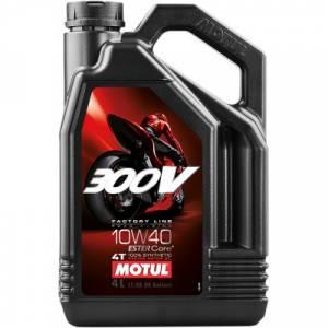 Motul - Motul 300V Factory Line Road Racing Synthetic 4T Oil 10W-40 4L - Image 1