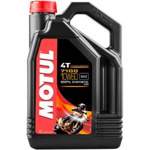 Motul - Motul 7100 Synthetic 4TEngineOil 10W-60 4L - Image 1