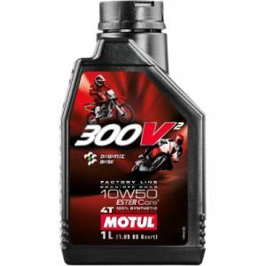 Motul - Motul 300V2 Racing Factory Synthetic 4T Oil 10W-50 1 L - Image 1