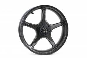"""BST Wheels - BST Twin TEK 5 Spoke Carbon Fiber Rear Wheel 5.5"""" X 17"""": Ducati Scrambler - Image 1"""