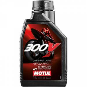 Motul - Motul 300V Factory Line Road Racing Synthetic 4T Engine Oil 15W50 [1 Liter] - Image 1