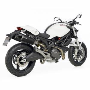 LeoVince - LeoVince LV One EVO Carbon Exhaust: Ducati Monster 696-796-1100/S - Image 1