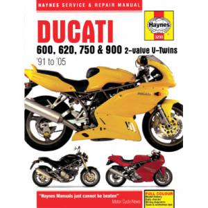 Haynes Books - Haynes Service & Repair Manual: Ducati 2V - Image 1