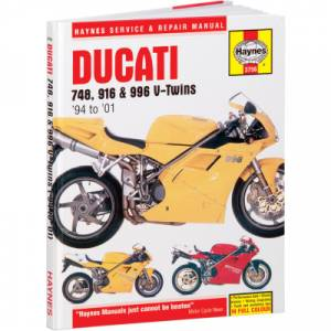 Haynes Books - Haynes Service & Repair Manual: Ducati 4V, 748-916-996 - Image 1