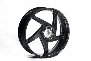 "BST Wheels - BST Diamond Tek Carbon Fiber Rear Wheel [5.75""]: MV Agusta F3 675/800, Brutale 675/800, Stradale, Turismo Veloce, Rivale - Image 1"