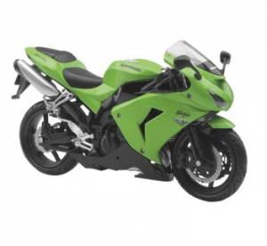 NewRay - New Ray Toys 1:12 Scale Sport Bikes: Kawasaki 2006 ZX-10R - Image 1
