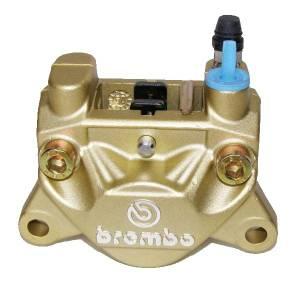 Brembo - BREMBO Rear Caliper P32F- 32mm Piston 20.5161.43 [Gold] - Image 1